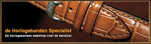 Horlogebandjes koop je bij dé Horlogebanden Specialist | 9,2 score